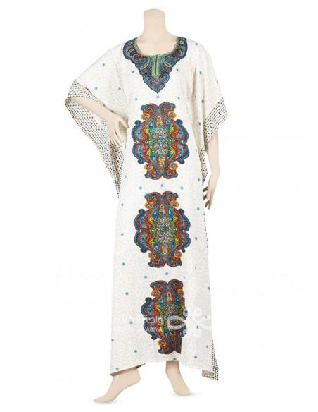 Calm Appeal Chiffon lace kaftan Hijab & Scarfs