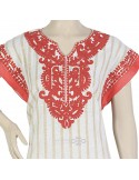 """Elegant Maria"" Chiffon and velvet embroidered jilbab (N-14261-11)"