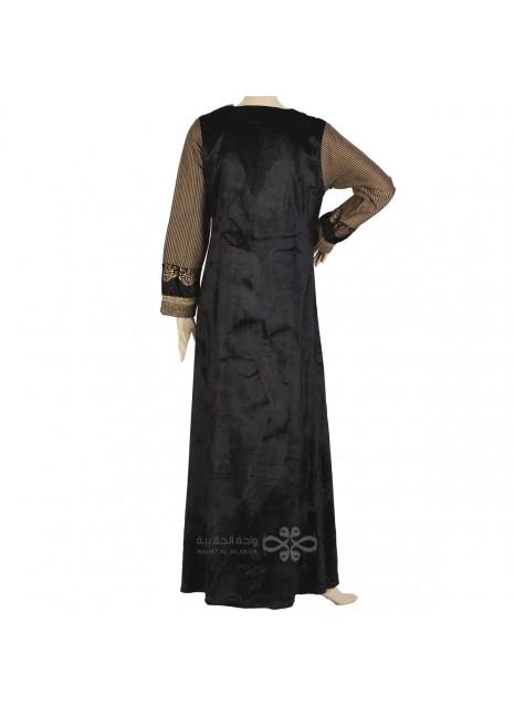 Classic khaleeji abaya with scarf (WE-106-1)