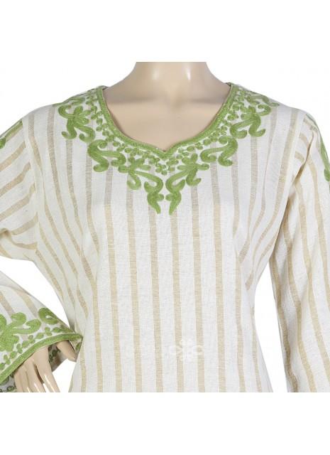 Classic khaleeji abaya with scarf (WE-109-1)