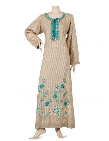 Fantasy Jalabiya chiffon with lace  Luxury Jalabiya