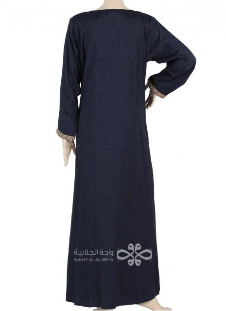 """La Reine"" Elegant chiffon fabric jilbab with a belt (WN-1031-15)"